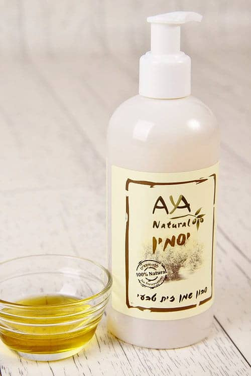 Natural Liquid Soap - Jasmine