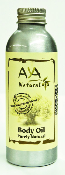 Natural Body Oil