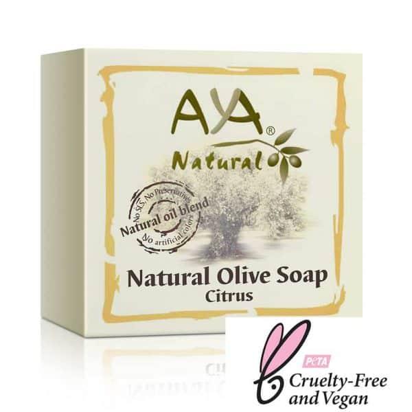 Natural Olive Soap Bar - Citrus