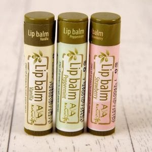 Lip Balm Vanilla - 100% Natural