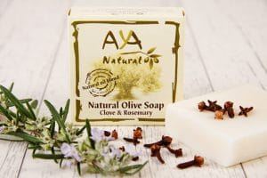 Clove and Rosemary Soap Bar