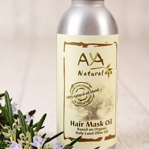 Aceite - Máscara para el cabello