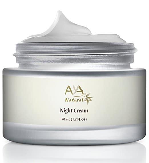 Natural Cosmetics Anti Aging - Night Cream By Aya Natural
