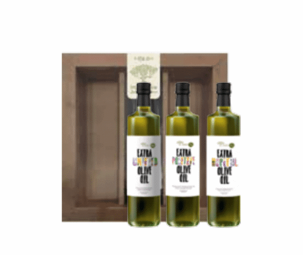 Extra Virgin Olive Oil - Three 100ml Bottles