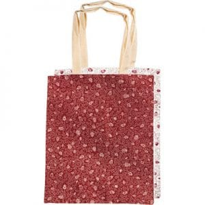 Yair Emanuel Fashion Bag: Printed Pomegranate Design