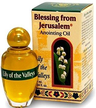 Lirio de los valles - Bendición de Jerusalém Aceite de unción