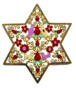 Titulares de pared: Estrella de David - Grande