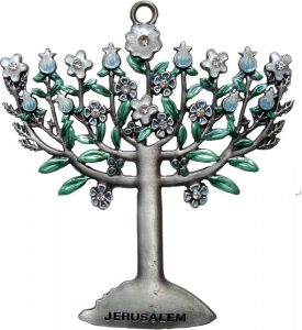 Wall Hanging: Menorah – Medium