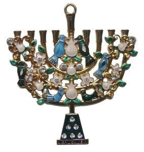 Wall Hanging: Menorah – Large