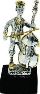 Cello Player 925 Silver