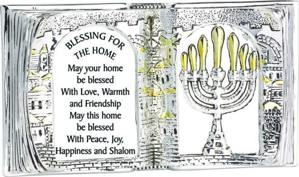Book Shape Stand: Home Blessing in English