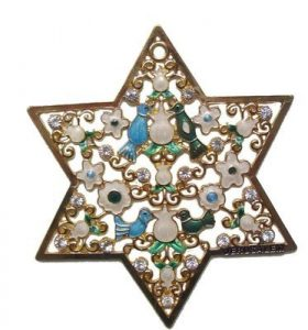Wall Hanging Star of David – Large