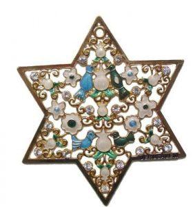Titular de pared Estrella de David - Grande