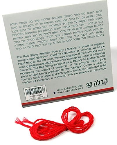 The original Kabbalah center Red String from Israel Kabbalah Center