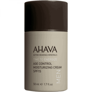 MEN'S AGE CONTROL MOISTURIZING CREAM BROAD SPECTRUM SPF15