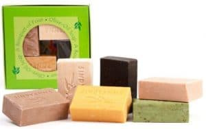 Sindyanna Olive Oil Soap Fair Trade - Gift Set