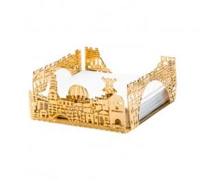 Jerusalem Design Memo/Napkins Holder