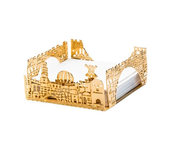 Servilletero/Tarjetero con Diseño de Jerusalém