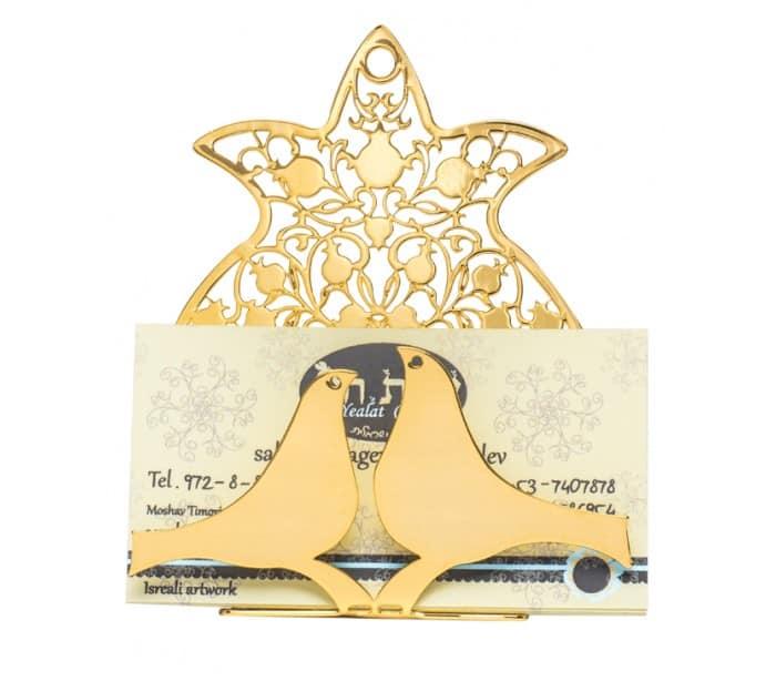 Tarjetero con Diseño de Granadas