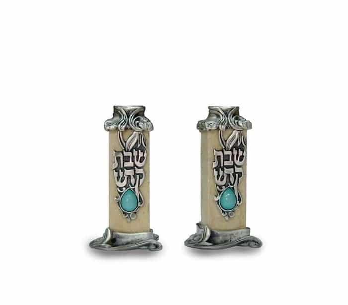 Shabbat Kodesh Candelabros