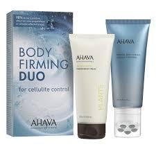 AHAVA Duo Kit de reafirmacion corporal Control de celulitis
