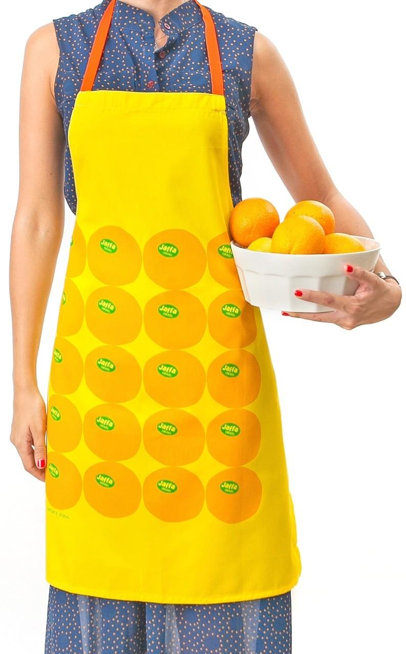 Apron - Jaffa Orange