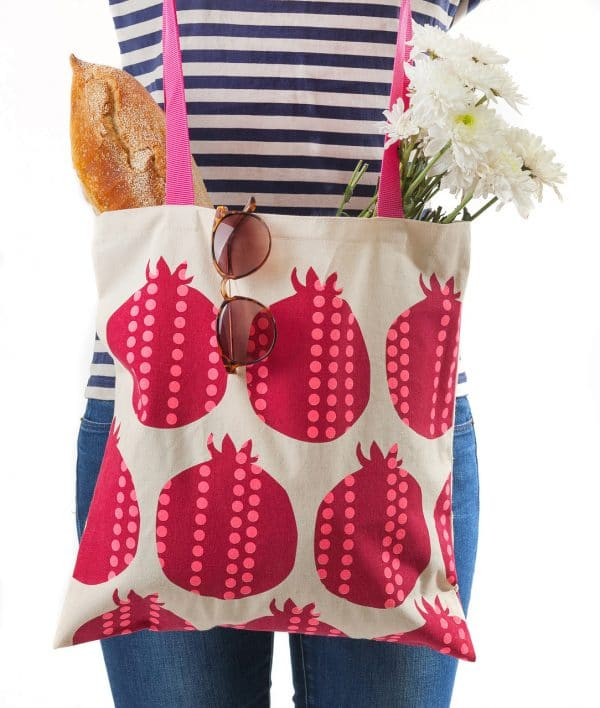 Tote Bag - Pomegranate.