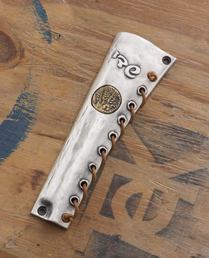 Coin Silver Plated Mezuzah