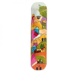 Holy City Mezuzah