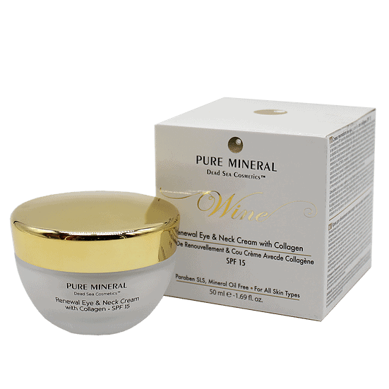Renewal Eye and Neck Cream with SP15