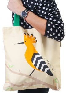 Tote Bag - Hoopoe Bird