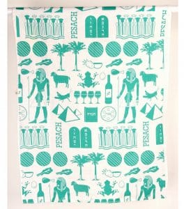 Paño de cocina con impresión del faraón - Trullo