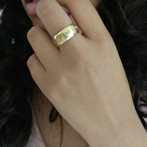 Name -Gold Ring