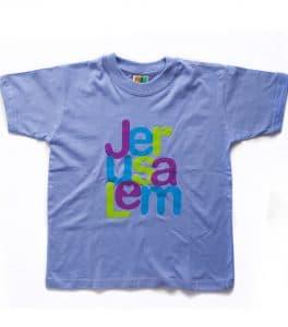 Camiseta para niños - La Ciudad de Jerusalém Celeste