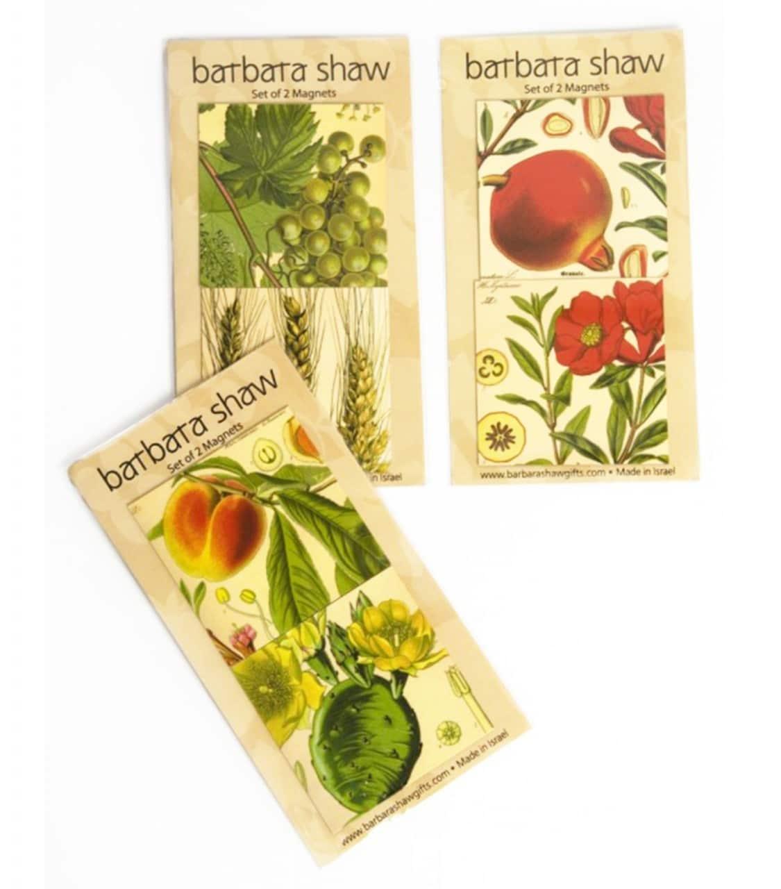Imanes botánicos de estilo antiguo