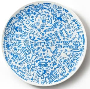 Seder Plate - Illustrated Hagaddah