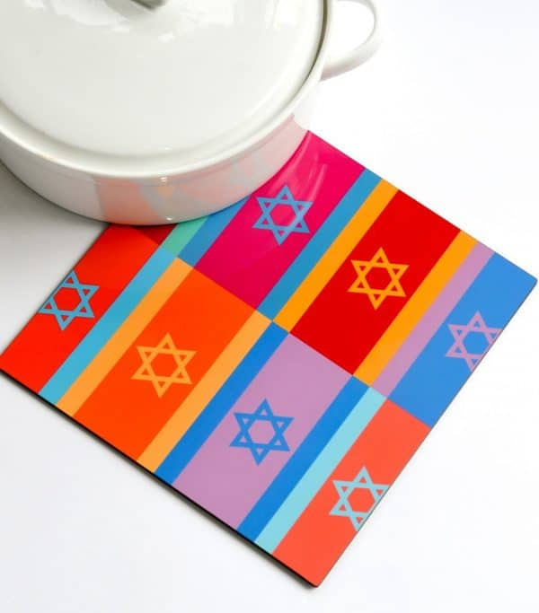 Trivet - Colorful Flags, Product