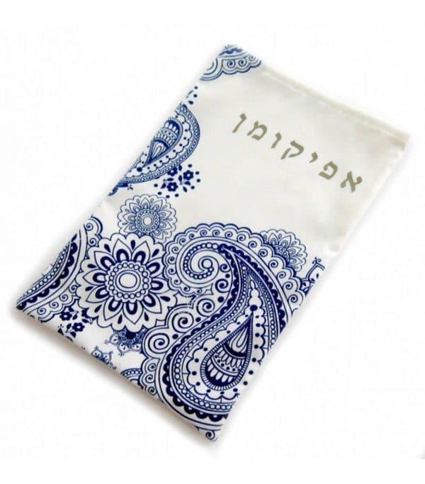 Afikoman Bag - Paisley Blue, Product
