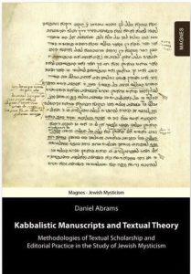 Manuscritos Kabalísticos y Teoría Textual