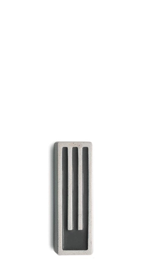 Mezuza con Diseño minimalista La Letra