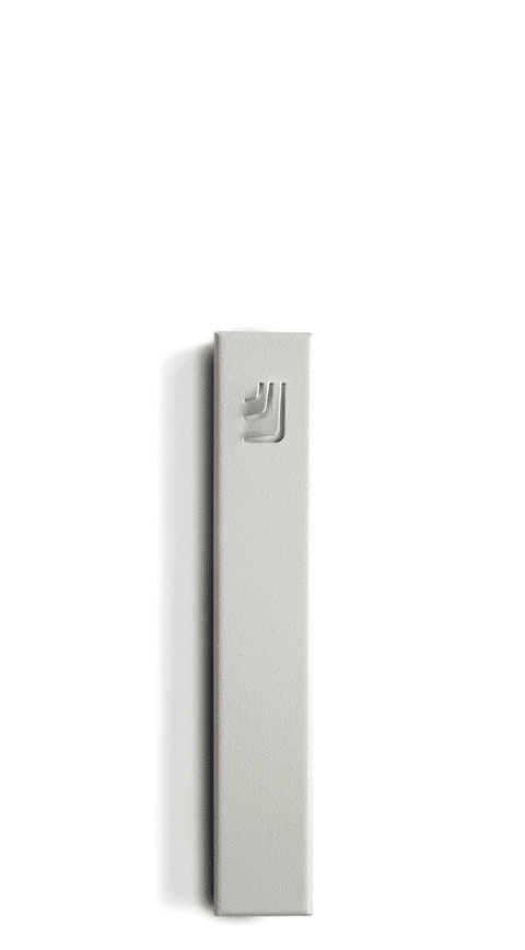 Morden White Metal Folded
