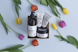Pomegranate Natural Cosmetics - Pampering care package