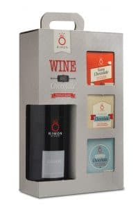 Pomegranate Wine an Chololate Gift Set