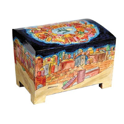 Caja de Etrog - Jerusalém