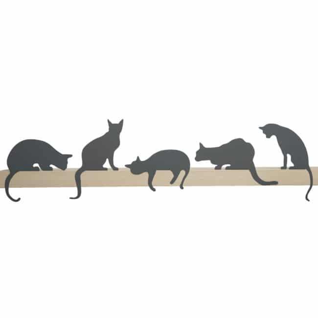 Meow de Gato - Princess - silueta decorativa del gato de Artori Design