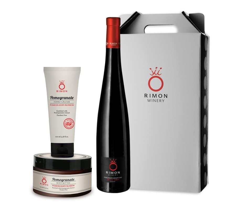 The Pomegranate Dessert Wine - Gift Set