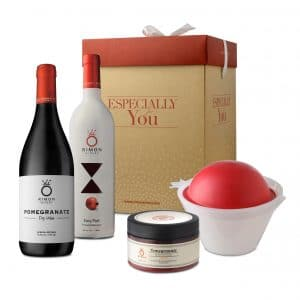 The Perfect Pomegranate Wine Gift Set