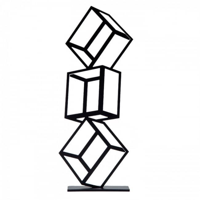 Torre de Cubos - Pieza para el escritorio para fotos y memos de Artori Design