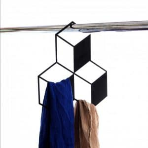Perchero Para el Armario 3D - 3 cubos