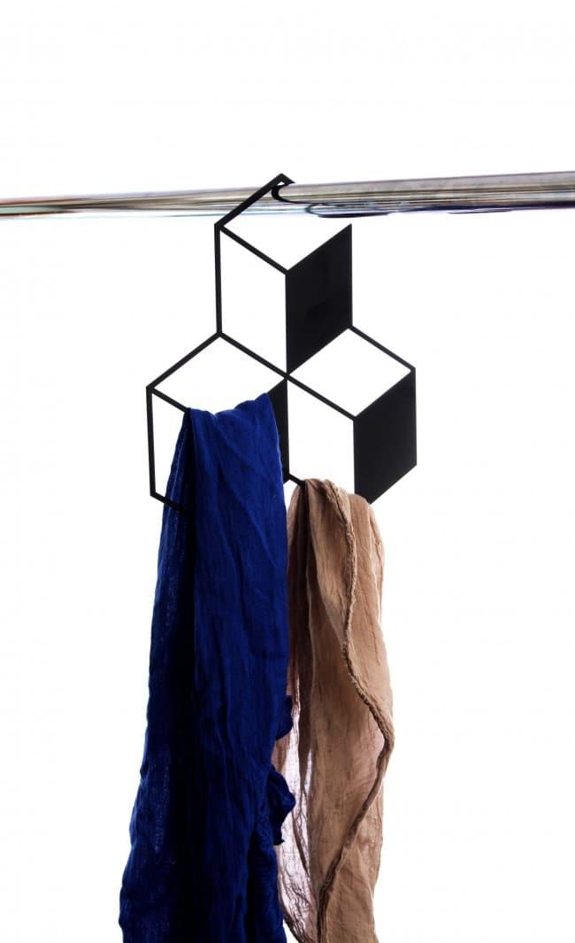 3D closet rack - 3 cubes